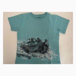 Used Boys Gymboree Blue Rapids Shirt - Size 6